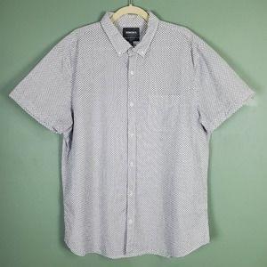 Bonobos Standard Fit Button Short Sleeve Shirt XXL